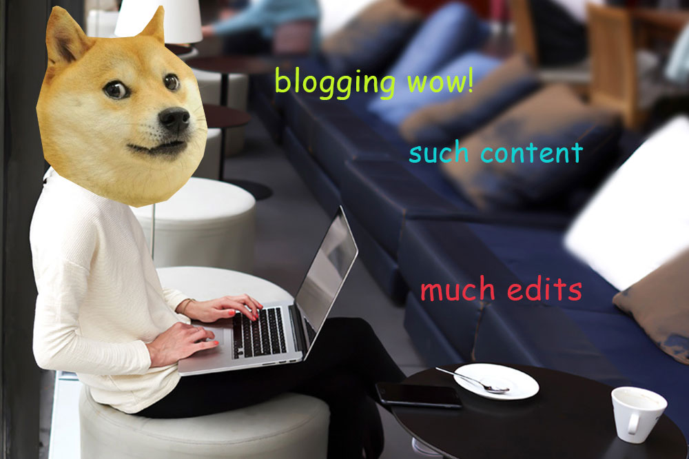 Blogging, Wow, much content - Design House Berkhamsted