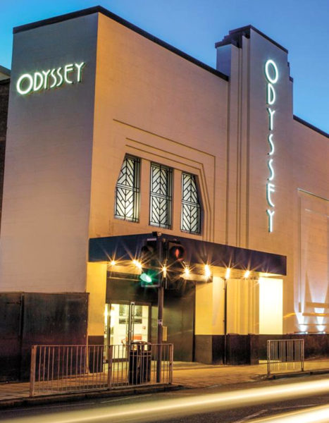 The Odyessy Cinema - Outside Shot - Design House Studio