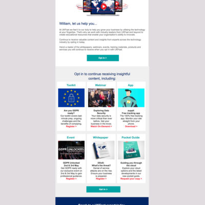 Opt-in Email Newsletters - UK Fast