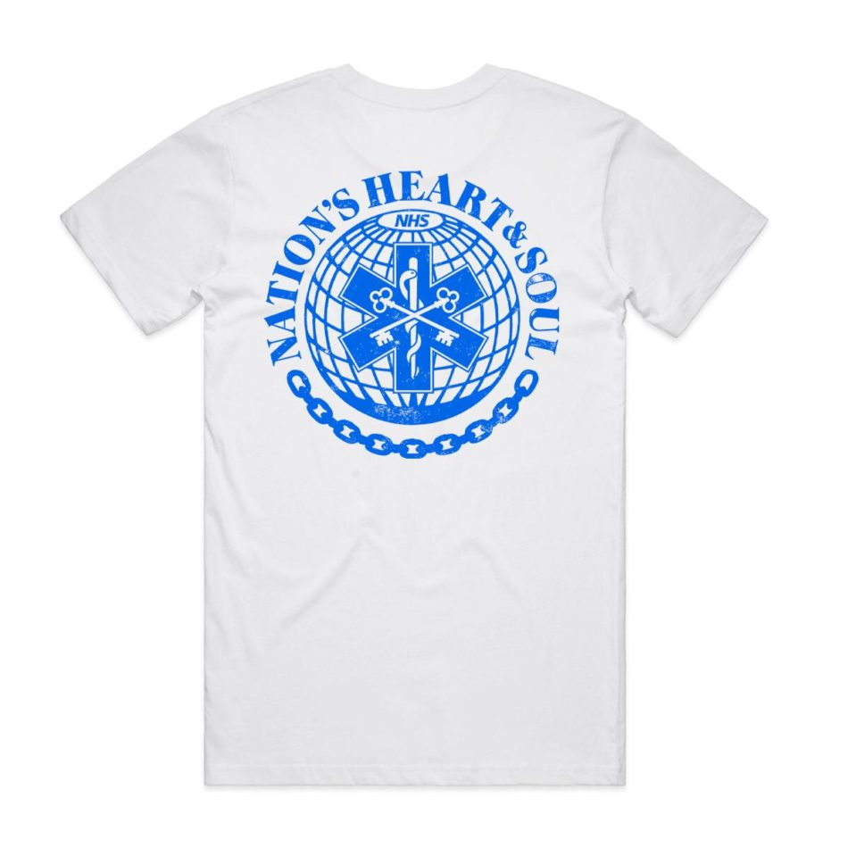 NHS Support T-Shirt - Back Print - Design House Berkhamsted
